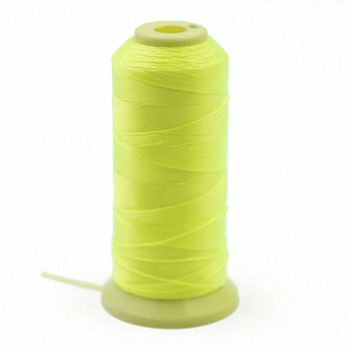 Nylon Cord 0.9mm | Electric Yellow-Green | Sold by Foot | NL0909F