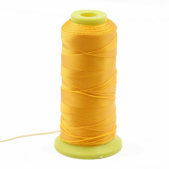 Nylon Cord | #9 (0.75mm) | Golden Yellow | Sold by Foot | NL0907F