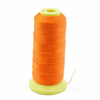 Nylon Cord | #9 (0.75mm ) | Orange | Sold by Foot | NL0906F