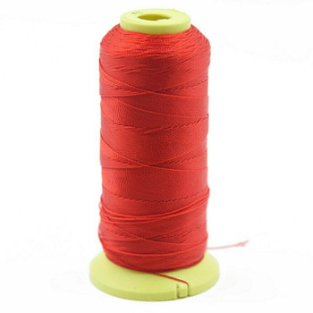 Nylon Cord | #9 (0.75mm) | Bright Red | Sold by Foot | NL0904F