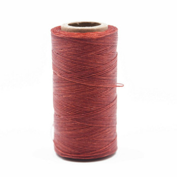 Nylon Cord Coated in Wax 1 mm | Red | Sold by 220m Spool | NWS14