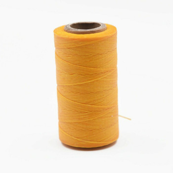 Nylon Cord Coated in Wax 1 mm | Yellow | Sold by 220m Spool | NWS12