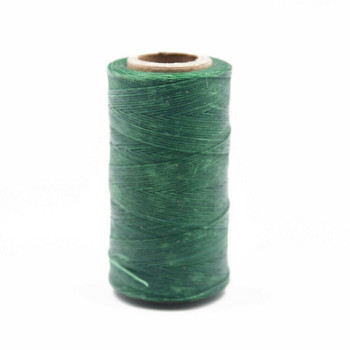 Nylon Cord Coated in Wax 1 mm | Green | Sold by 220m Spool | NWS10