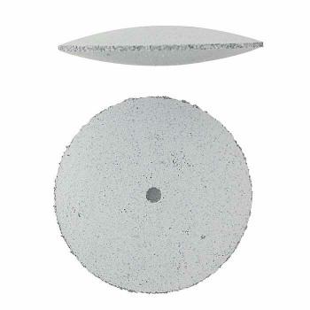 Silicone Knife-Edge Polishing Wheel | White/Coarse | POL-311.10 | Bulk Prcs Avlb