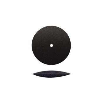 Silicone Knife-Edge Polishing Wheel, Black, Medium | POL-311.20 | Bulk Prcs Avlb