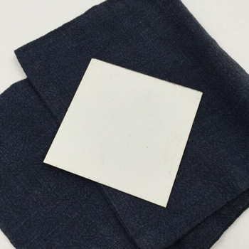 "Enameled Steel Plates 28 ga. 3"" square   ESP3"