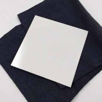 "Enameled Steel Plates 28 ga. 4"" square   ESP4"