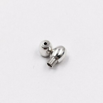 925 Sterling Silver Screw Clasp | Bead Style | ZT0906