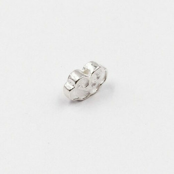 Sterling Silver Cloud Bead | 13mm W | 8mm L | 1.4mm Hole | ZT0812