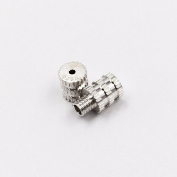 925 Sterling Silver Screw Clasp | Lined Style | ZT1001
