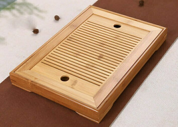 Bamboo Tea Tray Square 36x25x4cm | DHG03