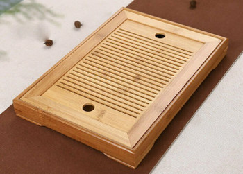 Bamboo Tea Tray Square 25x14x3cm | DHG04