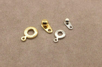 Snap Clasp Platinum Finishing 9mm | Sold by Each | PATS9
