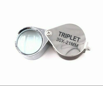 30X Triplet Loupe, Chrome, YST30