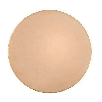 "18Ga Copper Disc | 2"" Round (50.8 mm) 