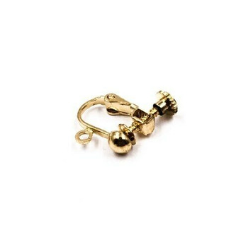 24K Gold Filled Ear Clip | 12mm | Sold by Pair | XHT02