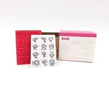 Miss & Mr. Stamps   Set of 12   JDG42
