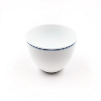 Blue Line White Porcelain Cup | TC01