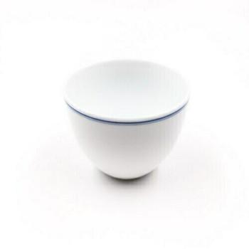 Blue Line White Porcelain Cup | TC01