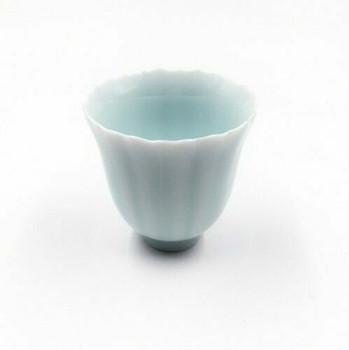 Floral Celadon Tea Cup | TC02