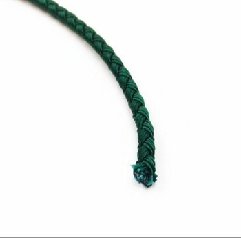 Dragon Braided Cord | 4 mm dia. | Green | Sold by Metre | CYM04