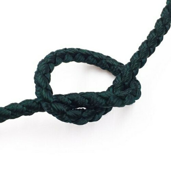 Dragon Braided Cord | 3 mm dia. | Green | Sold by Metre | CYM33
