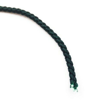Dragon Braided Cord | 3 mm dia. | Green | Sold by Metre | CYM33