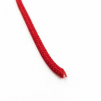 Braided Cord | 4 mm dia. | Red | Sold by Metre | CYM37