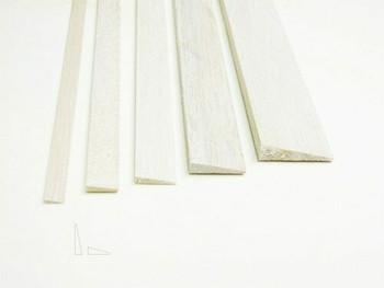 "Balsa wood, Trailing edge, 3/8 x 1 1/2 x 12"", Sold By Each | BWP1276"