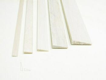 "Balsa wood, Trailing edge, 5/16 x 1 1/4 x 12"", Sold By Each | BWP1277"