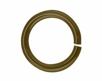 Jump Ring | Round | Bronze Finish 6mm | Sold By 25pc | LKBJB06