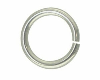 Jump Ring | Round | Silver Finish 6mm | Sold By 25pc | LKBJS06