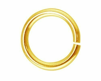 Jump Ring | Round | Gold Finish 6mm | Sold By 25pc | LKBJG06