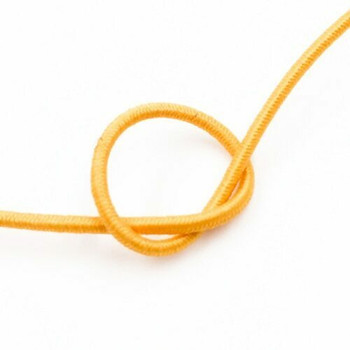 Elastic Cord |  Yellow | 1.2 mm dia. | Sold by Metre | CYM111