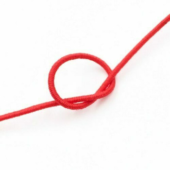 Elastic Cord | Red | 0.8 mm dia. | Sold by Metre | CYM113