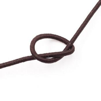 Elastic Cord | Brown | 1.2 mm dia. | Sold by Metre | CYM120