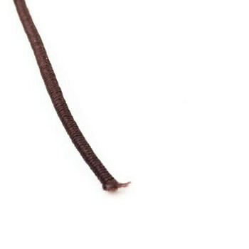 Elastic Cord | Brown | 1.5 mm dia. | Sold by Metre | CYM123