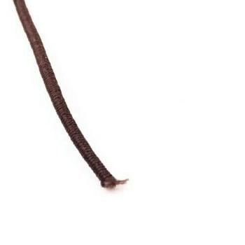 Elastic Cord | Brown | 1.5 mm dia. | Sold by Metre | CYM123