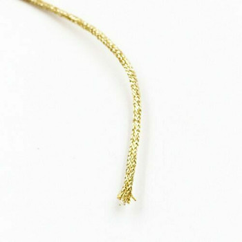 Glitter Knotting Cord | Champagne | 1 mm dia. | Sold by Metre | CYM126