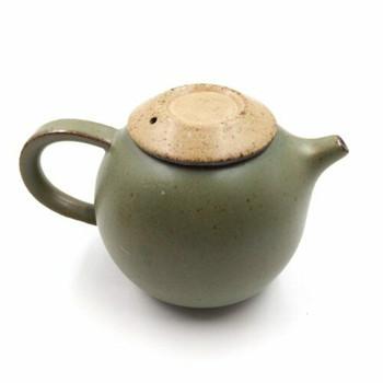 Green Glazed Ceramic Teapot | GTP01