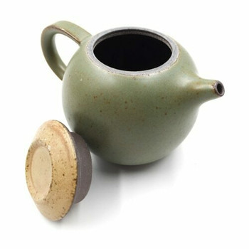 Green Glazed Ceramic Teapot | GTP01