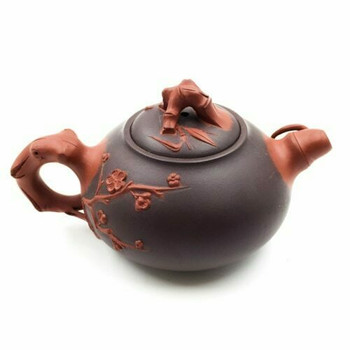 Yixing Ceramic Cherry Blossom Teapot | YXTP03