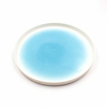 8-Inch White Porcelain Plate | DHBP