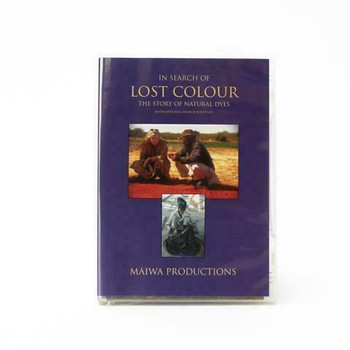 In Search of Lost Colour DVD   Maiwa Productions   DVDM03