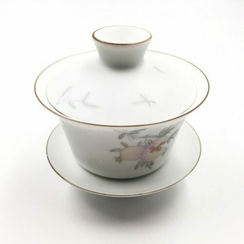 Gaiwan Pomegranate Teacup | SJT01
