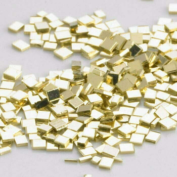 14K Plumb Yellow Gold Chip Solder | Easy | Sold by 0.1g | around 30 pieces | Bulk Prc Avlb | 600825