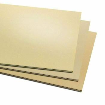 """6x12"""" Jeweller's Brass Sheet   22ga (0.64mm)   130122"""