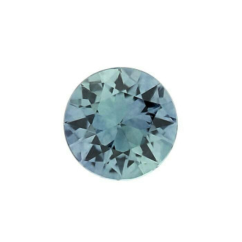 2mm Round Faceted Teal Sapphire | American Mined | 88423