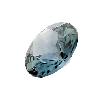 3mm Round Faceted Teal Sapphire | American Mined | 88425