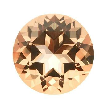 2mm Round Faceted Peach Topaz | Swarovski | 88443